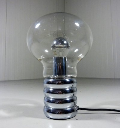 Older Edition Bulb Table Lamp by Ingo Maurer, Germany