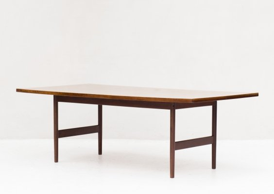 Dining table in rosewood, 1960's