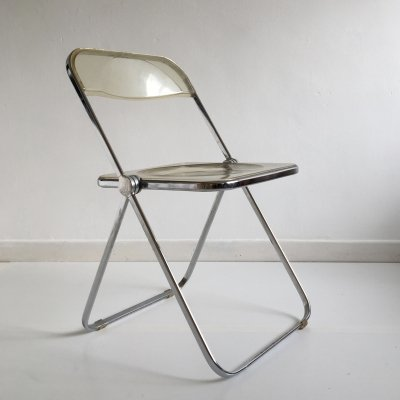 Mid Century Lucite 'Plia' Chair by Giancarlo Piretti for Castelli, Italy c.1960