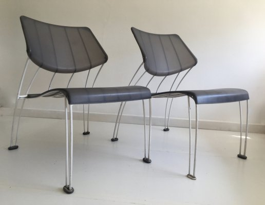 Pair of 'Hasslo' Chairs by Monika Mulder for Ikea, c.1990