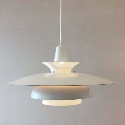 Danish hanging lamp model Roma by Junge, 1970s