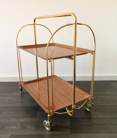 Bremshey & Co Gerlinol Dinett Serving Trolley, 1960's
