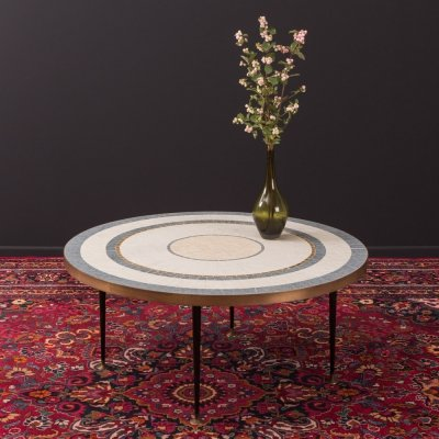 Mosaic coffee table from the 1950s