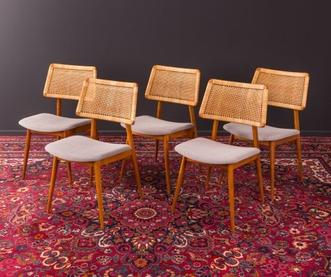 Set of 5 dining chairs by Habeo, Germany 1950s