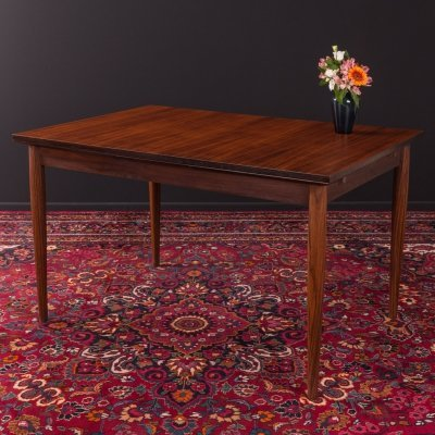 Rosewood dining table by Lübke, Germany 1960s