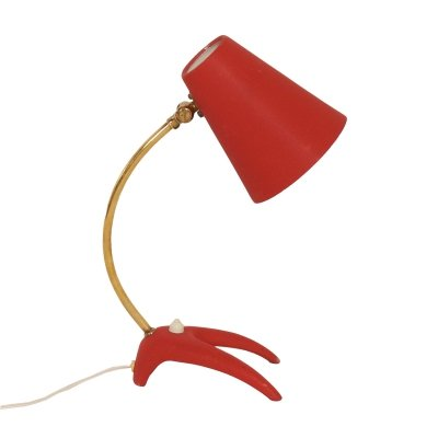 Swedish Desk Lamp by Ewa Värnamo, 1950s
