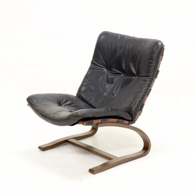 Mid Century 'Siesta' Lounge Chair by Ingmar Relling for Westnofa, 1960s