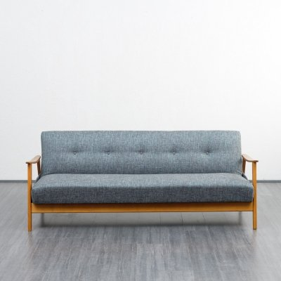 Midcentury Sofa With Fold Out Guest Bed, 1960s