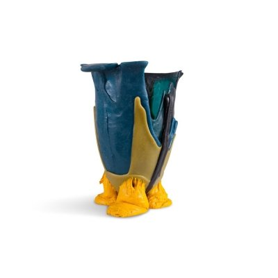 Gaetano Pesce Mulitcolored Resin Vase, 1996