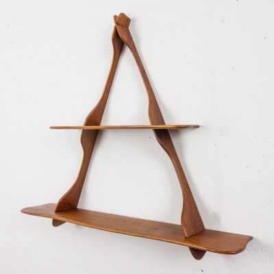 Teak shelve by Peder Moos