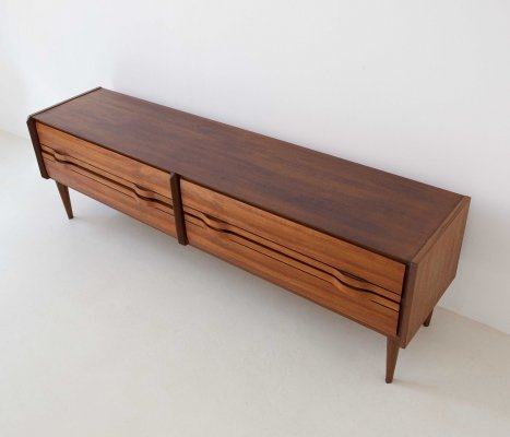 1950's teak sideboard with drawers