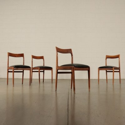 Four 1960s Vintage Chairs