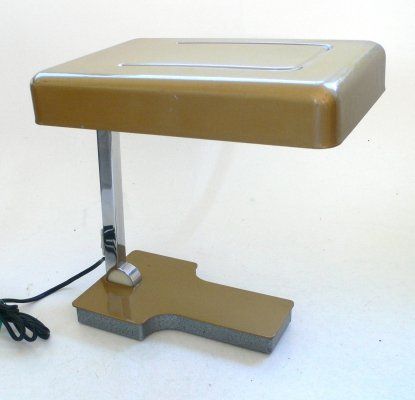 Foldable Mini Desk Lamp by Fase, Spain 1960s
