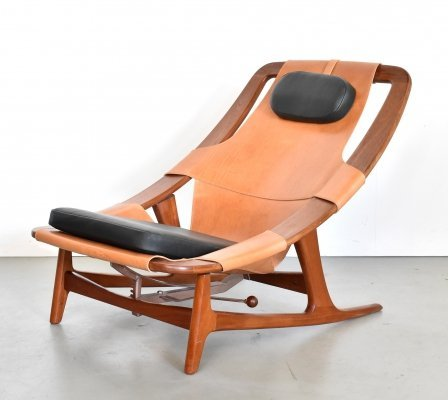 Holmenkollenjren lounge chair by Arne Tidemand Ruud for Norcraft, 1960s