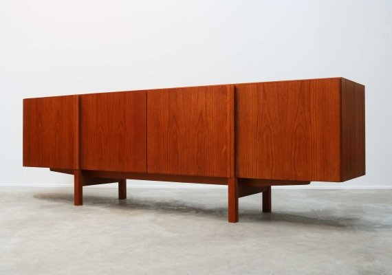Rare Danish sideboard in Teak by IB Kofod-Larsen for Faarup, 1960