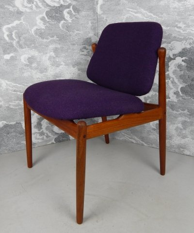 Model B-92s Teak Chair by Arne Vodder, 1950s