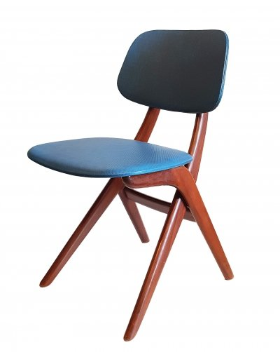 3x Scissor Chair by Louis van Teeffelen for Webe