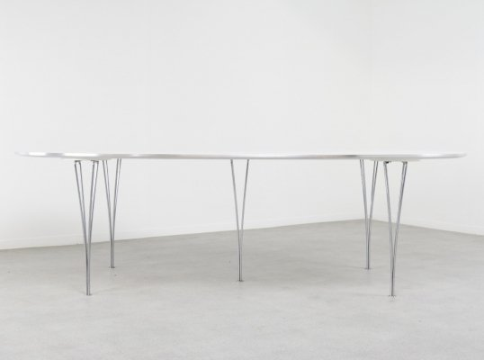 Super-Ellipse dining table by Bruno Mathsson & Piet Hein for Fritz Hansen, 1990s