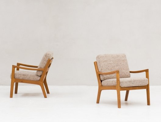 Pair of lounge chairs by Ole Wanscher for Cado, 1960s