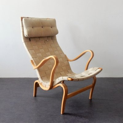 Easy chair 'Pernilla' by Bruno Mathsson for Dux, Sweden 1960's
