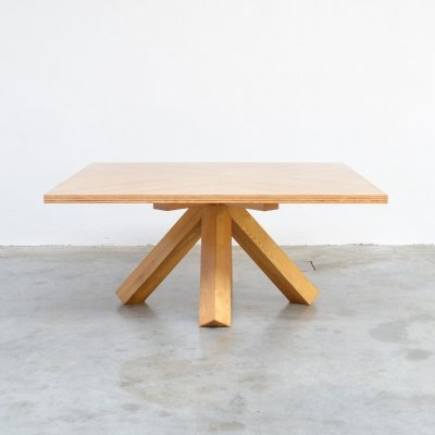 Architectural Dining Table by Mario Bellini, 1976