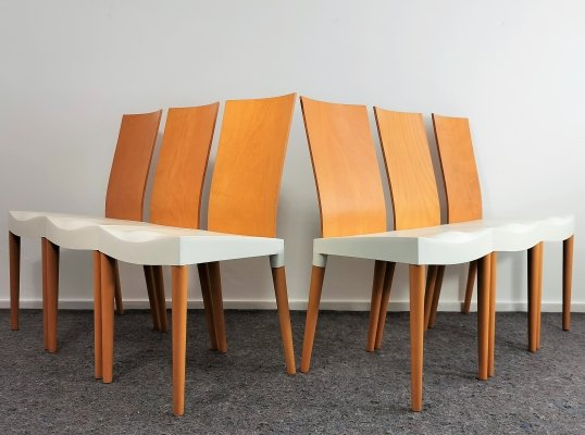 Miss Trip Dining Chairs by Philippe Starck for Kartell, 1990's
