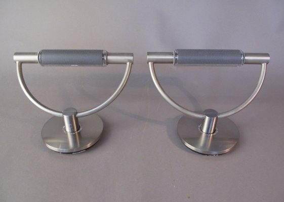 Pair of Gradi Mini Parete wall lights by Franco Bettonica & Mario Melocchi, 1990s
