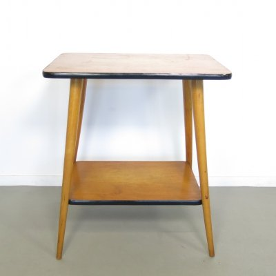 Birchwood side table, 1960's