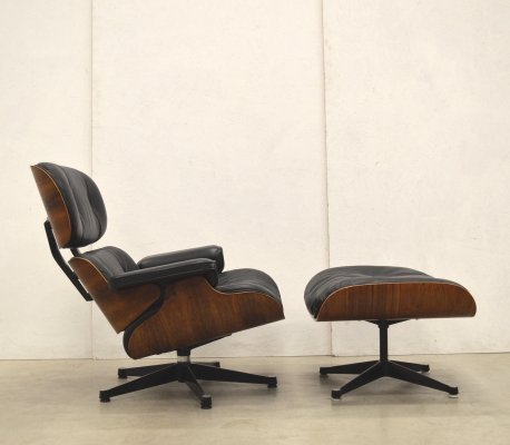 Lounge chair by Charles & Ray Eames for Vitra, 1970s