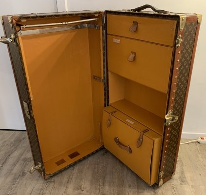 Courrier Trunk by Louis Vuitton, 1930s