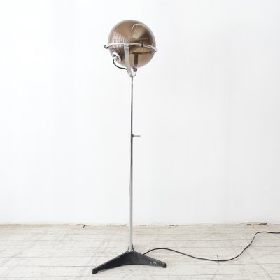 Globe 2000 floor lamp by Frank Ligtelijn for Raak Amsterdam, 1960s