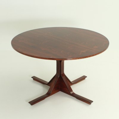 Round Dining Table by Gianfranco Frattini for Bernini