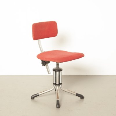 Model 360 typist stool by WH Gispen & CH Hoffmann
