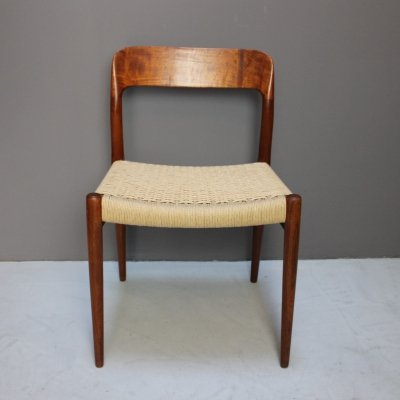 Teak Model 75 Chair by Niels O. Moller, 1960s