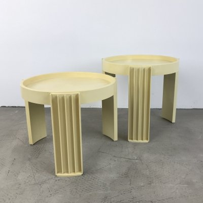 Set of 2 Cassina 'Marema' Nesting Tables, 1967