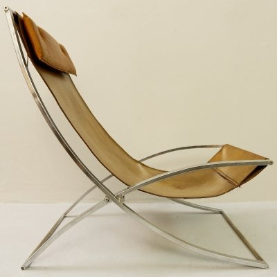 'Luisa' Lounge Chair by Marcello Cuneo, Italy 1970s