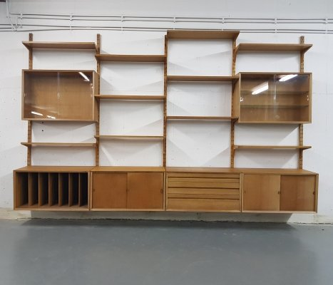 Large Royal System Wall Unit by Poul Cadovius for Cado, Denmark 1960's