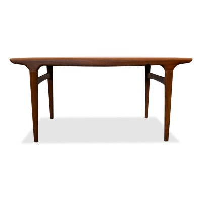 Vintage Danish Johannes Andersen teak dining table