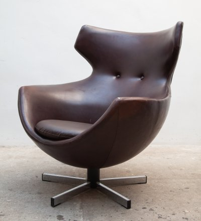 'Jupiter' Lounge Swivel Chair by Pierre Guariche for Meurop, Belgium 1960s