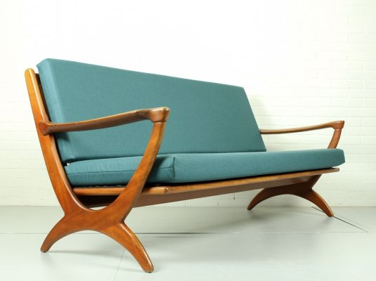 Mid Century Dutch Design Sofa for De Ster Gelderland, 1950s
