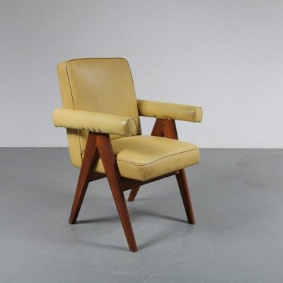 Pierre Jeanneret 'Senate-Committee' Chair, India 1950s
