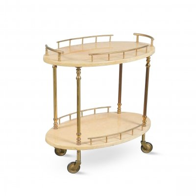 Aldo Tura Bar Cart, Italy 1950