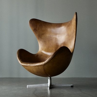 1st Generation Egg / Model 3316 chair by Arne Jacobsen for Fritz Hansen, 1950s