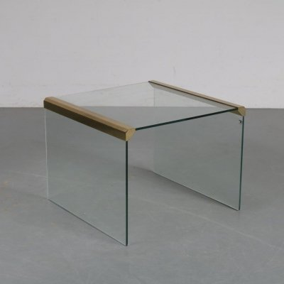 Luxurious side table by Pierangelo Galotti for Galotti & Radice, Italy 1970s
