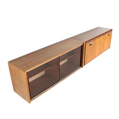 Midcentury sideboard wall unit by Fratelli Cervi, 1950s