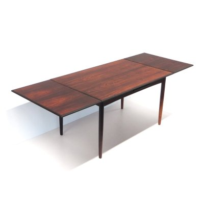 Large vintage extendable dining table, 1960s