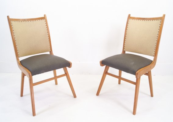 Pair of Fifties Easy Chairs