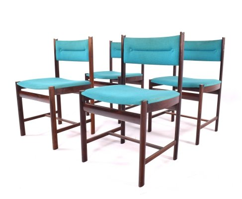 Midcentury Danish Rosewood Dining Chairs