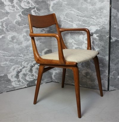 Model 370 / Boomerang arm chair by Erik Christensen for Slagelse Møbelværk, 1950s