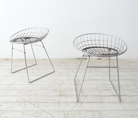 SM05 wire stools by Cees Braakman for Pastoe, 1950s